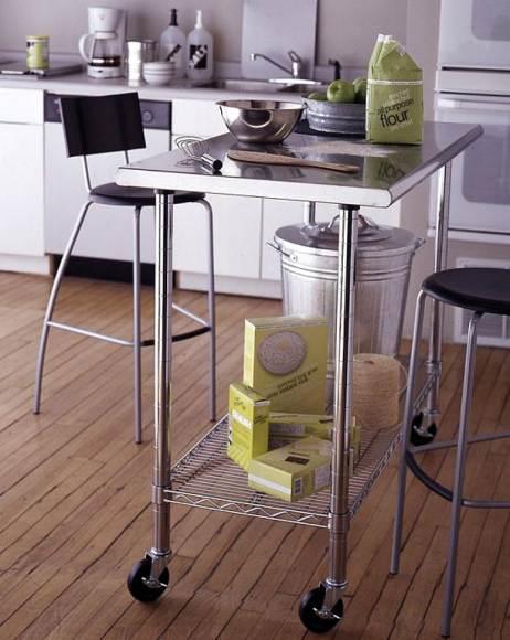 Оптимальная мебель для небольшой кухни