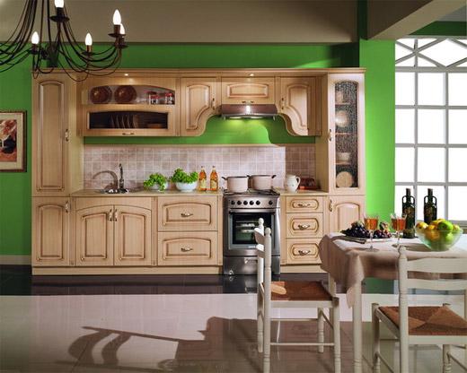 Кухонный гарнитур в стиле кантри