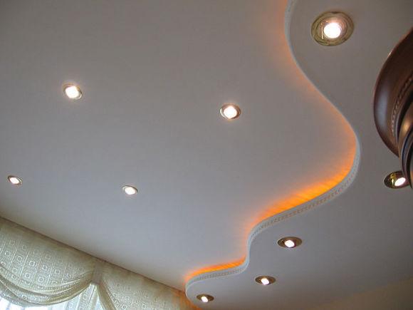 потолок из гипоскартона