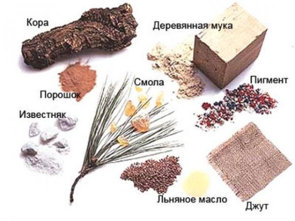 Натуральный линолеум производится из природных компонентов