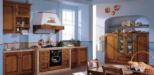 мебель на кухне в итальянском стиле