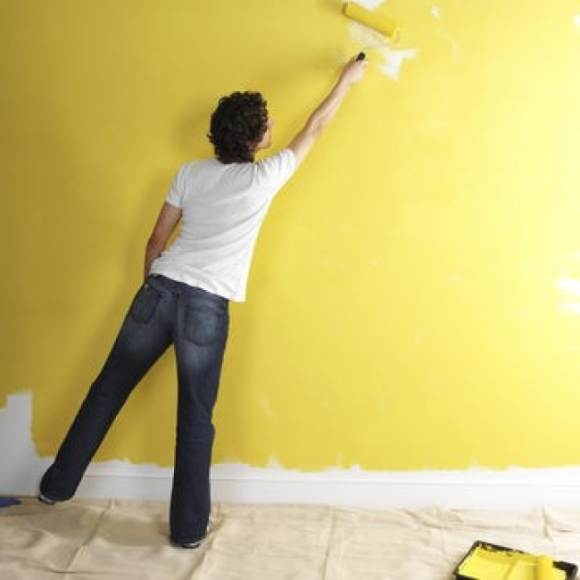 правильная покраска стен