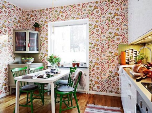 выбор отделочных материалов для стен кухни