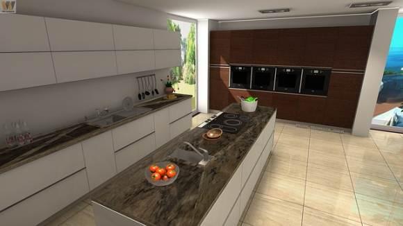 Кухонный гарнитур в урбанистическом стиле