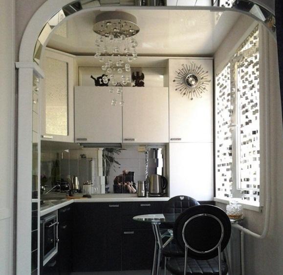 Красивый дизайн кухни в хрущевке: Дизайн кухонь в хрущевках площадью 6 кв м: с холодильником